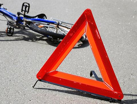 Украина: водитель маршрутки сбил велосипедиста