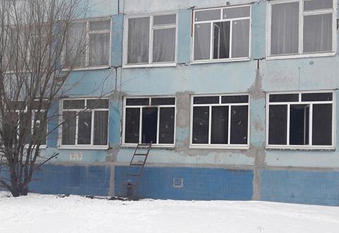 Спасатели Каменского ликвидировали пожар в СОШ № 42 Днепродзержинск