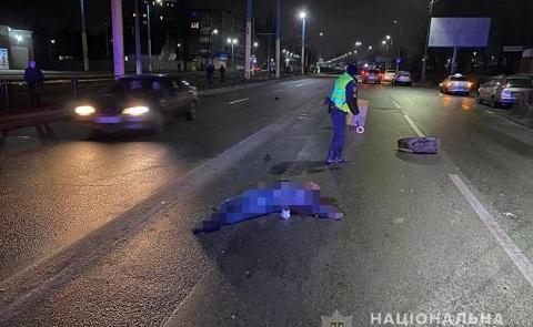 Правоохранители г. Каменское задержали водителя, который скрылся с места дорожного происшествия Днепродзержинск