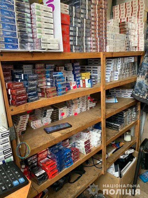 Правоохранители г. Каменское изъяли контрафактные сигареты, алкоголь, наркотики Днепродзержинск