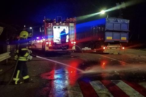 Под Каменским в результате ДТП был заблокирован водитель автомобиля  Днепродзержинск