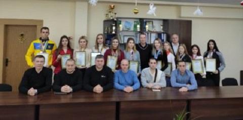 Лучших тхэквондистов г. Каменское наградили Днепродзержинск