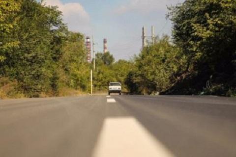 В Каменском за текущий год провели капитальных ремонт двух дорог Днепродзержинск