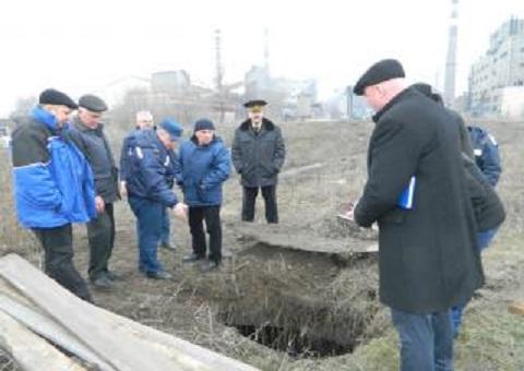 В Каменском прошло выездное заседание комиссии по вопросам ТЭБ и ЧС Днепродзержинск
