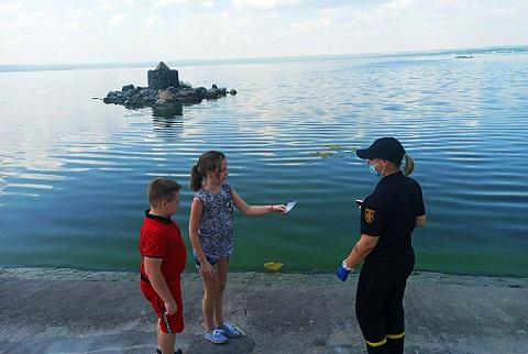 Спасатели Каменского напомнили горожанам об опасностях водоемов  Днепродзержинск
