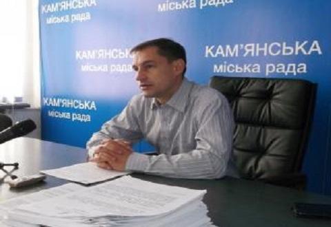 Секретарь горсовета Каменского провел брифинг Днепродзержинск