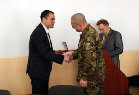 В Каменском провели награждение ко Дню Вооруженных Сил Украины Днепродзержинск