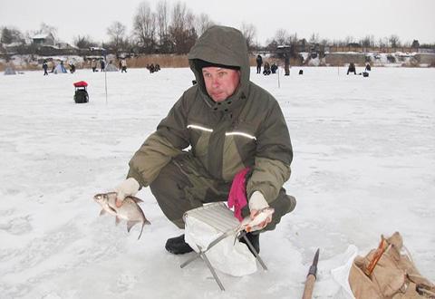 где в днепродзержинске ловят рыбу