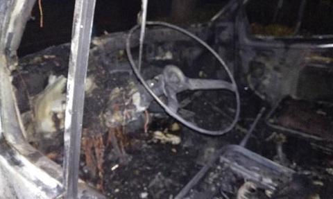 В Каменском огонь уничтожил автомобиль «Газель» Днепродзержинск
