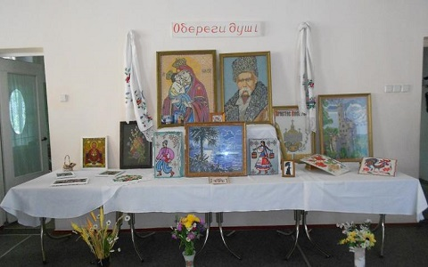 Каменский территориальный центр организовал выставку «Искусство красоты» Днепродзержинск