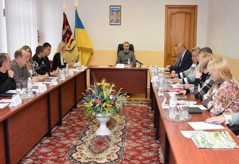 В Каменском прошло выездное заседание общественного совета ГЭИ области Днепродзержинск