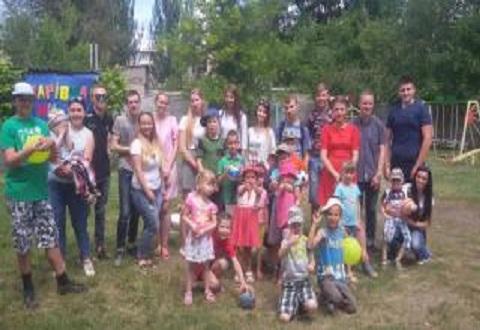 Каменчане провели акцию «Молодежь-детям» Днепродзержинск