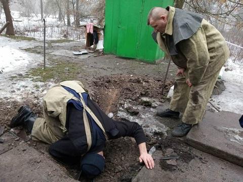 Спасатели ГПСЧ № 7 г. Каменское извлекли щенка из канализации Днепродзержинск