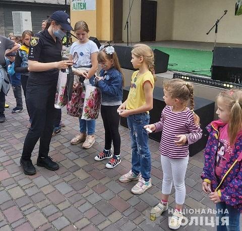 Сотрудники полиции г. Каменское провели мероприятие для детей Днепродзержинск