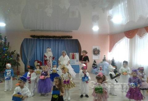 Воспитанников детсада лицея НИТ №2 г. Каменское порадовали Новогодним утренником Днепродзержинск