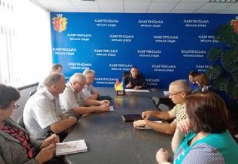 В г. Каменское идет подготовка к очередному отопительному сезону Днепродзержинск