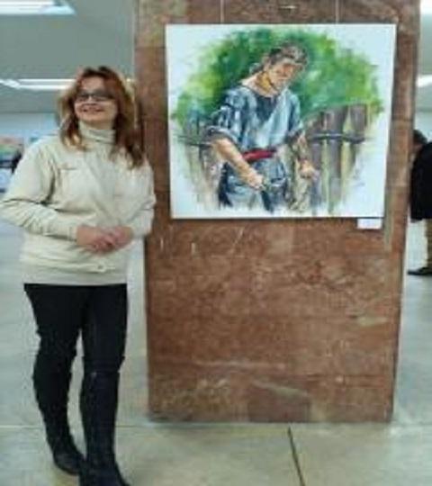 Каменская художница А. Михальчук представила работы на международной выставке Днепродзержинск