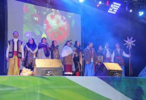 В Каменском дали старт Рождественскому марафону Днепродзержинск