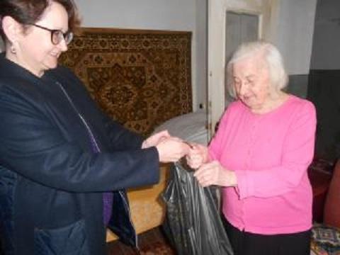 В Каменском поздравляли юбиляров Днепродзержинск