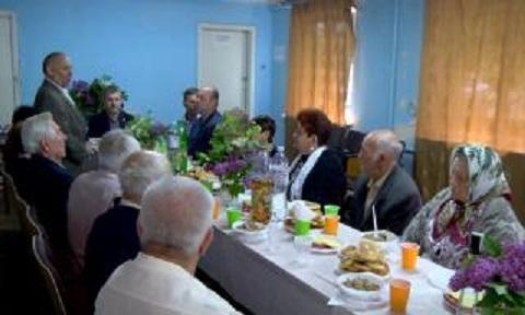 В Заводском районе города Каменское прошла встреча ветеранов Днепродзержинск