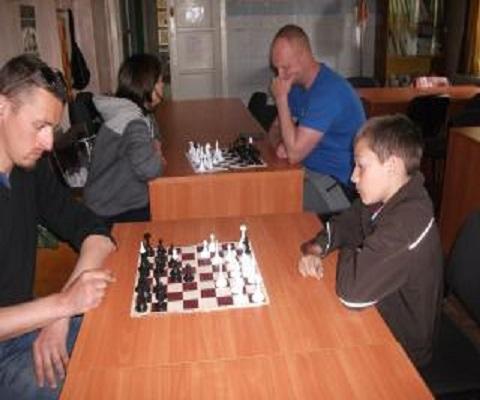 На спортбазе в г. Каменское соревновались шахматисты Днепродзержинск