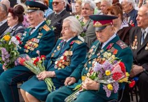 Торжественные мероприятия провели ко Дню Победы в г. Каменское Днепродзержинск