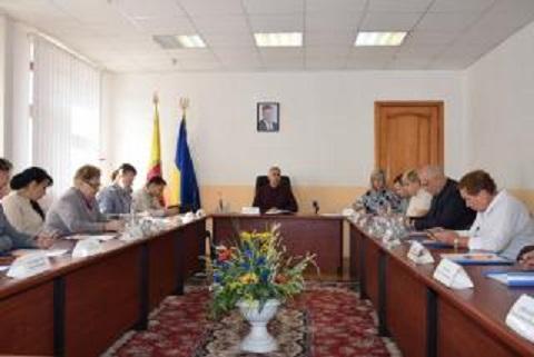 В г. Каменское состоялось заседание исполкома горсовета Днепродзержинск