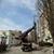 В микрорайоне Каменского быстро решили вопрос по восстановлению наружного освещения
