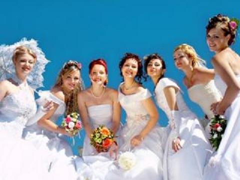 День города Каменское украсит парад невест Днепродзержинск