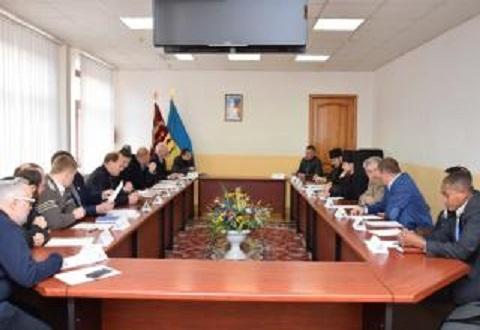 Духовный совет провел заседание в Каменском Днепродзержинск