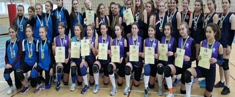 Волейболистки г. Каменское стали бронзовыми призёрами чемпионата области Днепродзержинск