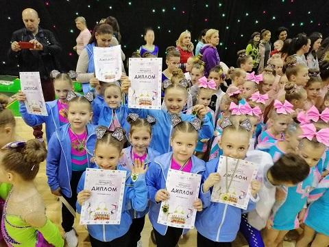 Каменские черлидеры получили награды чемпионата Украины Днепродзержинск