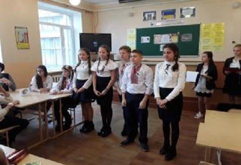 Каменчане отметили День украинской письменности и языка Днепродзержинск