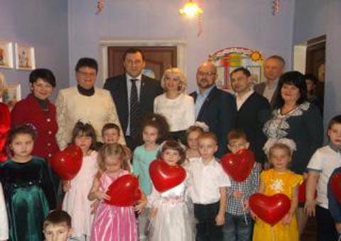 В ДУЗ г. Каменское открыли сенсорную комнату Днепродзержинск