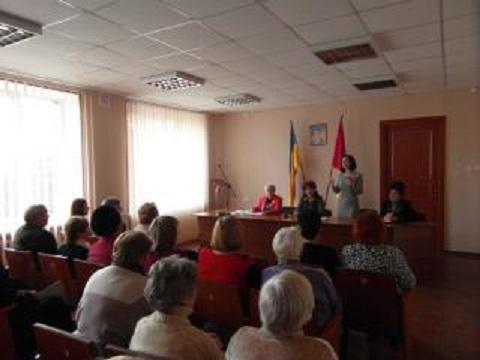 В Южном районе г. Каменское ветераны отчитались о деятельности за год Днепродзержинск