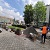 В г. Каменское продолжают работу по обустройству безопасных пешеходных переходов