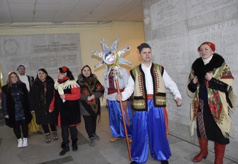 В Каменском провели Рождественский марафон Днепродзержинск
