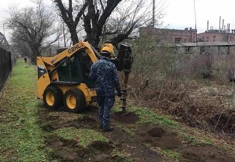 В г. Каменское проводят работы на территории бывшего ПХЗ Днепродзержинск