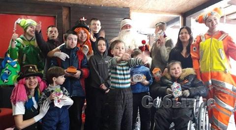 Зимний праздник провели в ресторане ледовой арены Каменского Днепродзержинск