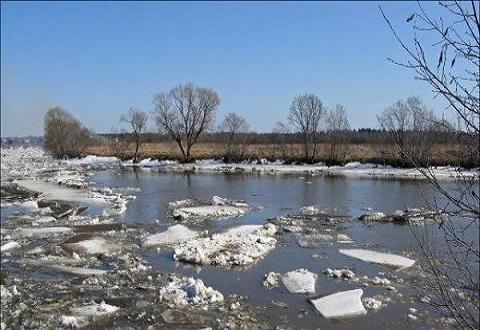 На водоемах Каменского начался ледоход Днепродзержинск