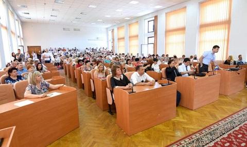 Сотрудники сферы образования г. Каменское посетили ознакомительную лекцию Днепродзержинск