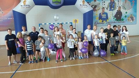 Самая спортивная семья области проживает в Каменском Днепродзержинск