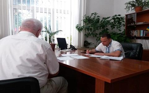 Каменский  городской голова провел прием граждан Днепродзержинск