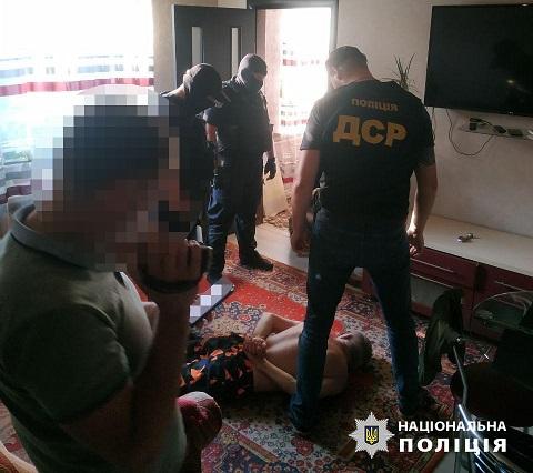 В г. Каменское задержали вооруженную банду  Днепродзержинск