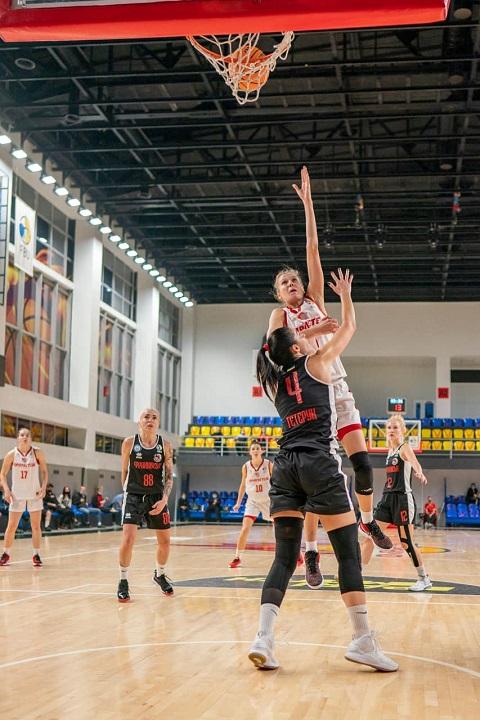 Женская команда БК «Прометей» г. Каменское порадовала болельщиков первой победой Днепродзержинск