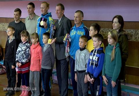 КСЦ «Днепровец» меткомбината г. Каменское готовит чемпионов Днепродзержинск