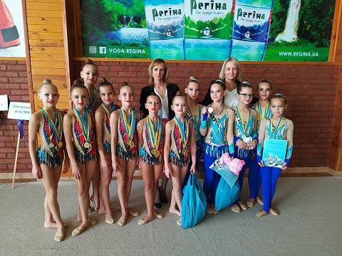 Гимнастки г. Каменское  заняли призовые места на соревнованиях в Виннице Днепродзержинск