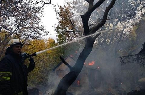 Каменские спасатели ликвидировали пожар в доме по улице Циолковского Днепродзержинск