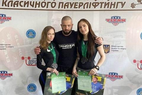 На чемпионате Украины пауэрлифтеры г. Каменское завоевали 7 наград Днепродзержинск