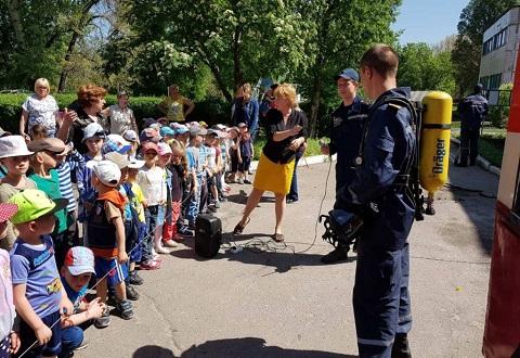 В ДУЗ г. Каменское прошел День пожарной безопасности Днепродзержинск
